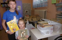 Книги в дар Песоченской библиотеке